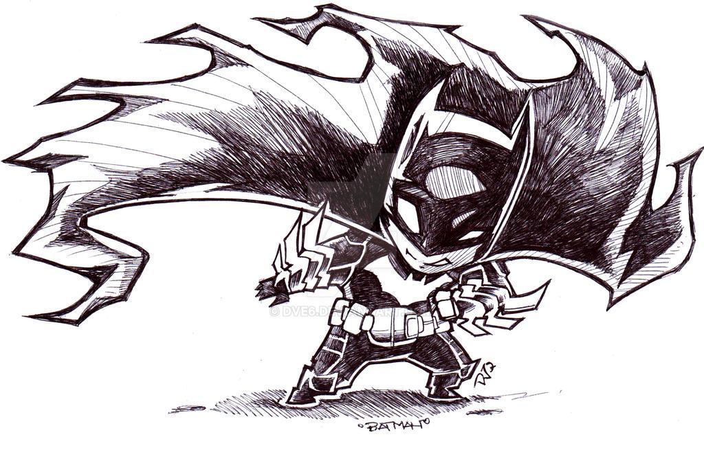 Chibi Batman by Dve6 on DeviantArt