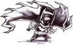 Chibi Batman by Dve6