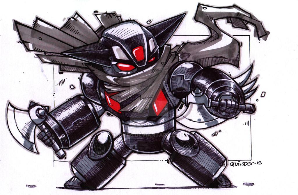 Black Getter Robot by Dve6