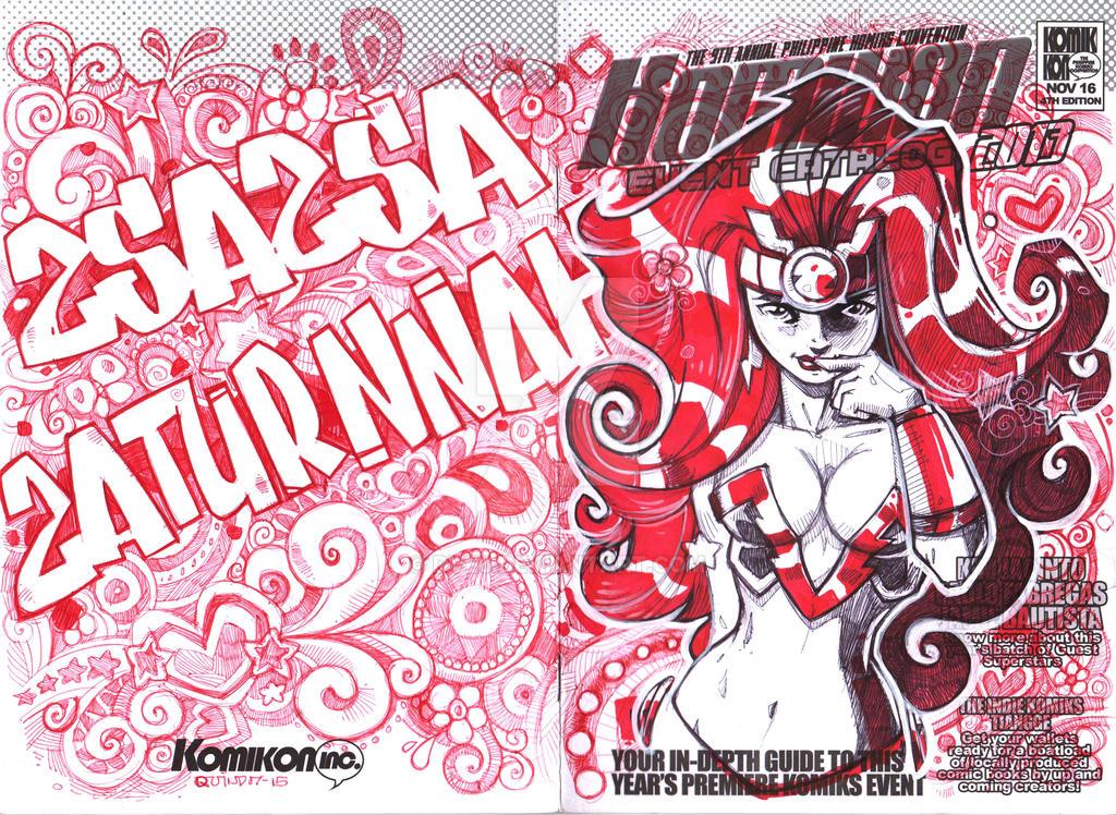 Zsazsa Zaturnah by Dve6