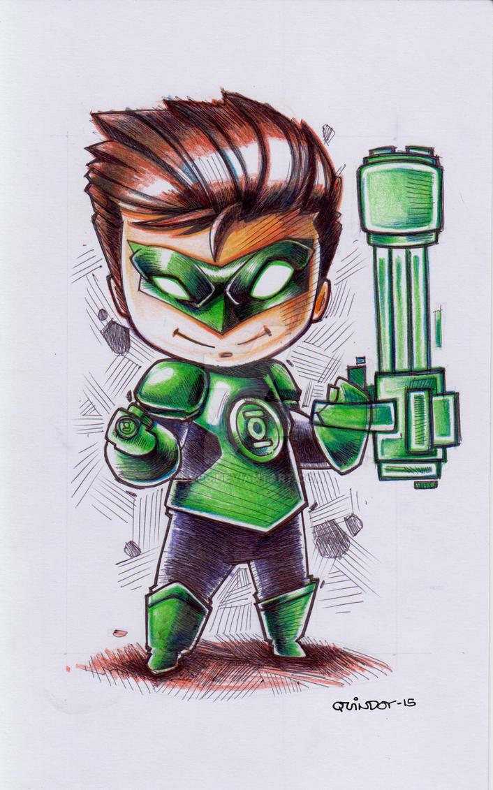 Green Lantern by Dve6