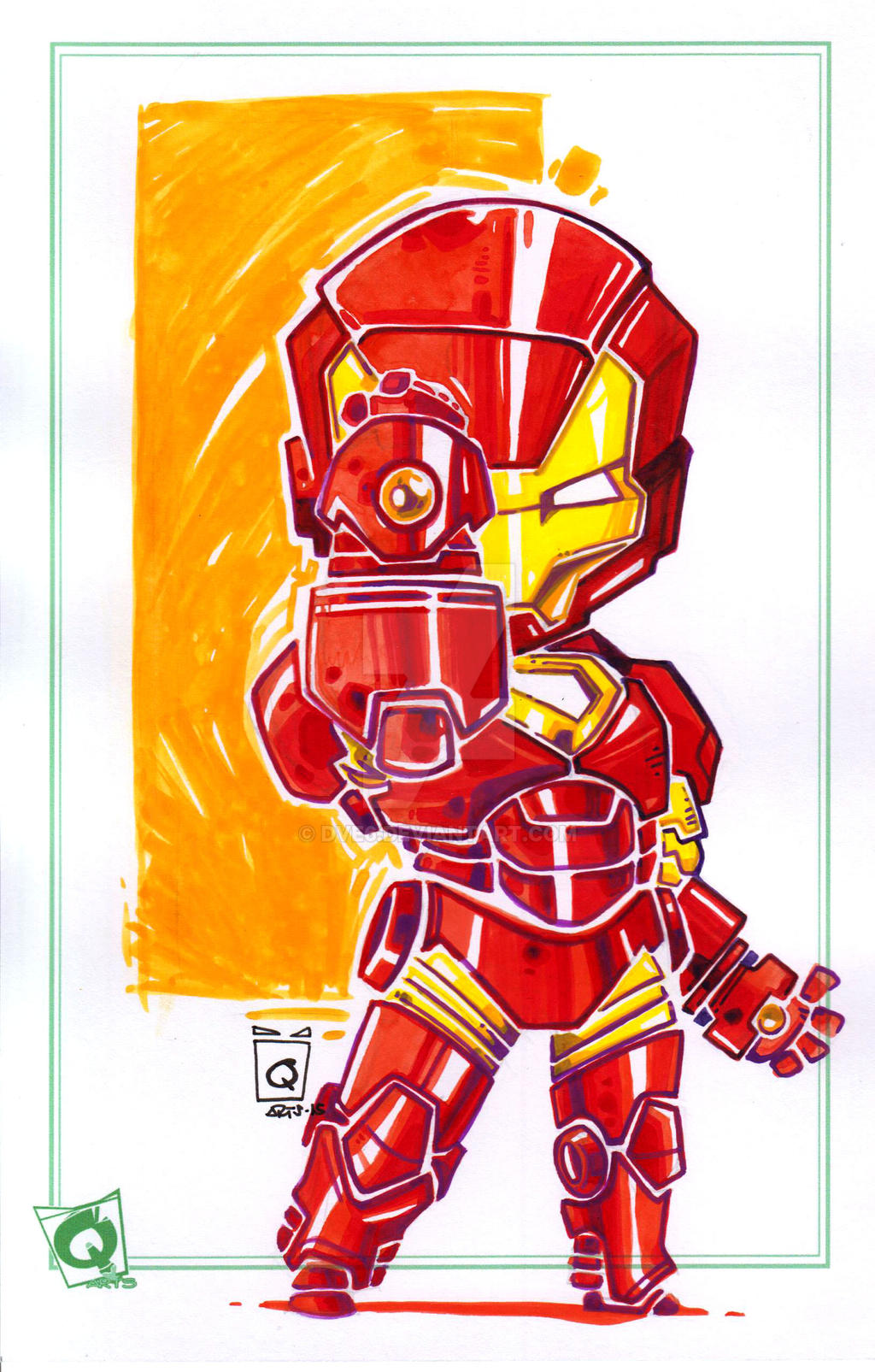 Iron Man Chibi By Dve6 On Deviantart