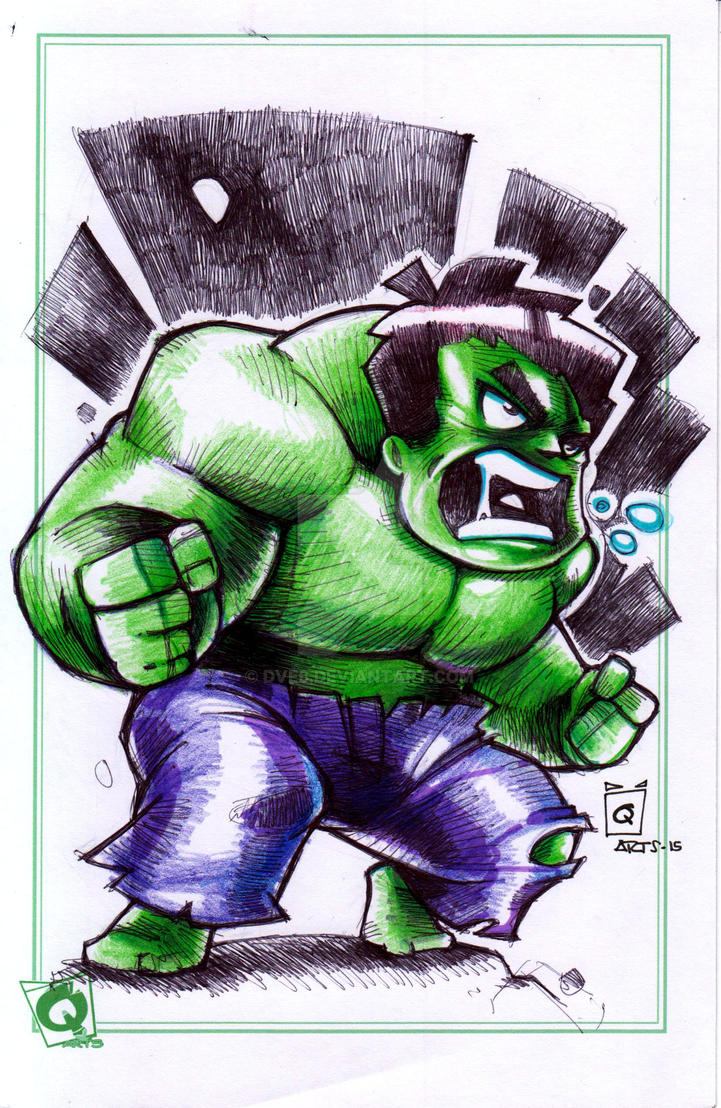 Hulk by Dve6