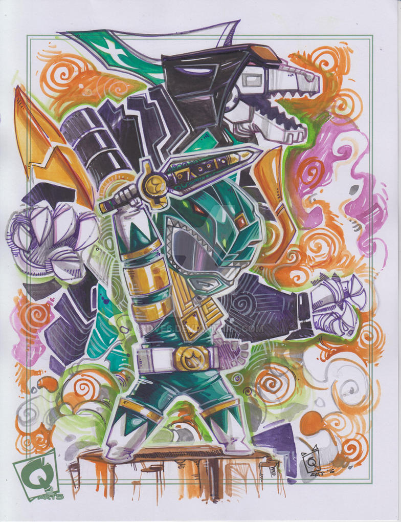 Green ranger by Dve6