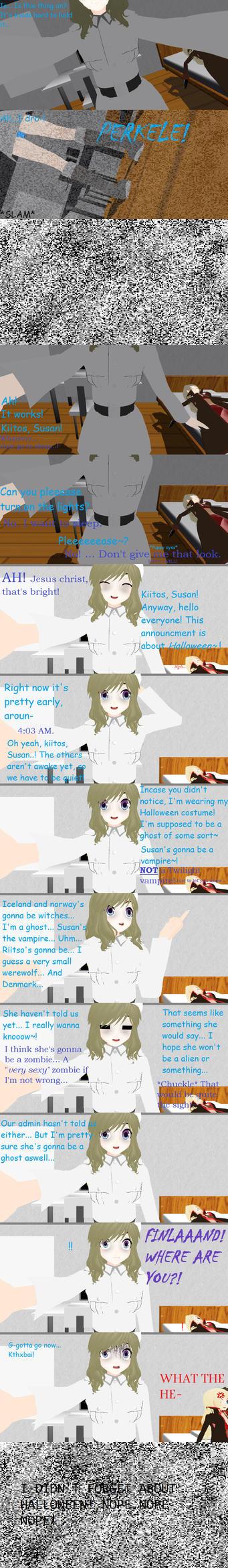 Announcment + Halloween Event! by AskMMDNyordics