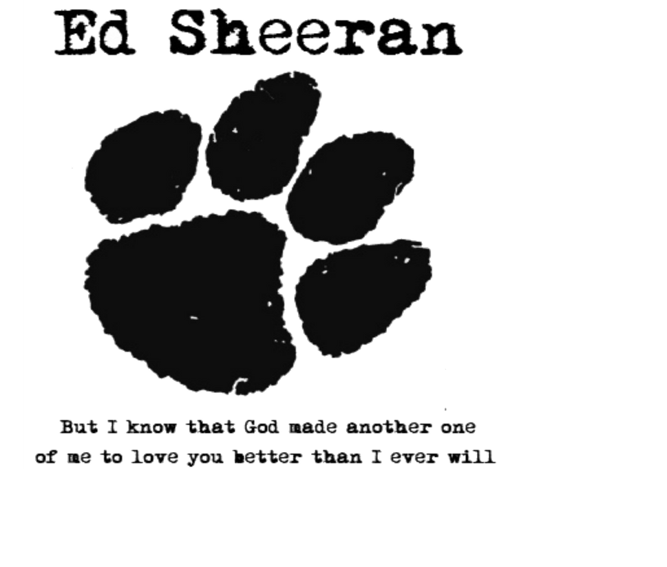 Ed Sheeran Logo | www.... Ed Sheeran Wall Quotes Tumblr