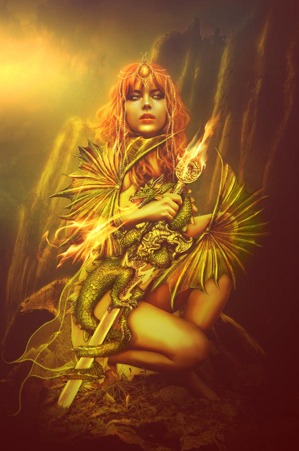 Dragon sword by PerlaMarina