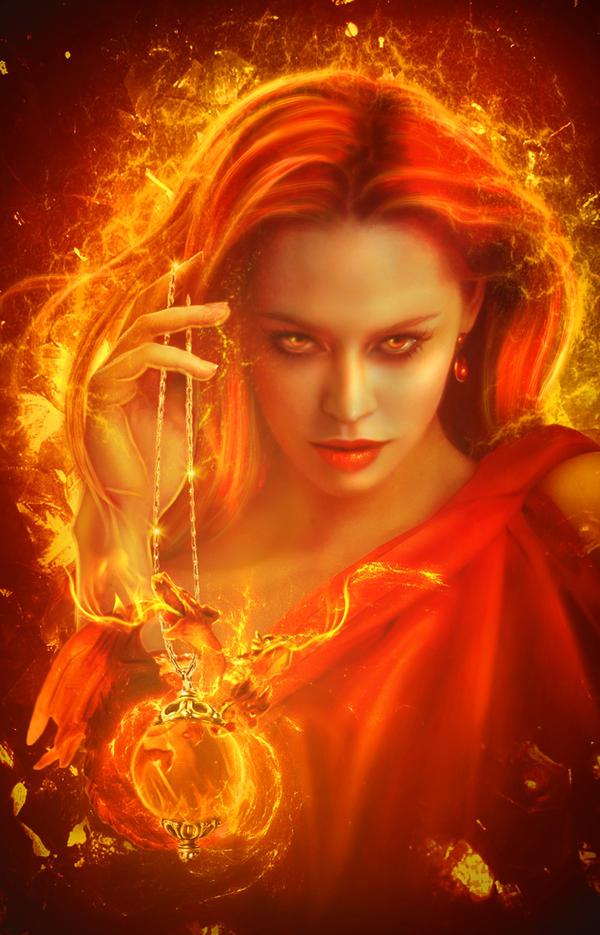 The Fire Caller by PerlaMarina