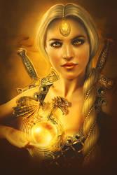 Keeper of the golden opal by PerlaMarina