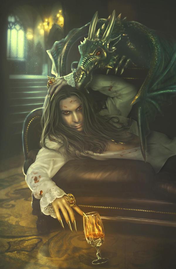 Dragon's Lair by PerlaMarina