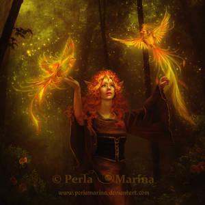 Fire Dance by PerlaMarina