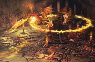 Sorceress by PerlaMarina