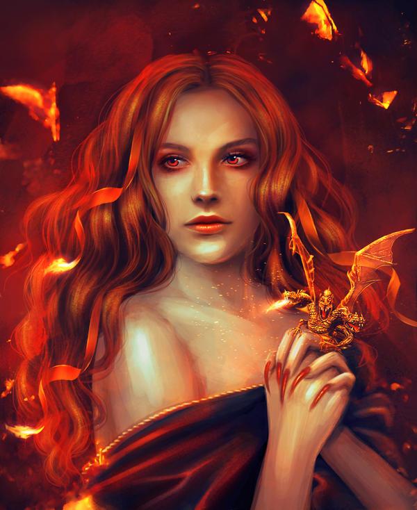 Dragon Ring by PerlaMarina