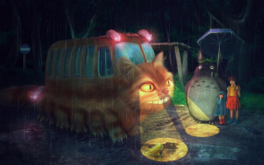 The Catbus Stop