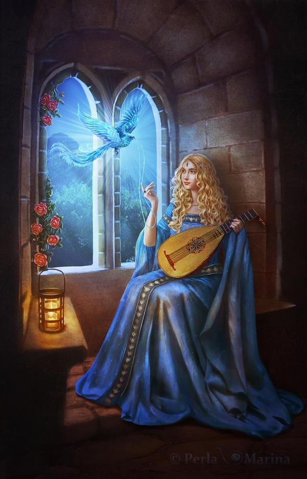 L'Oiseau bleu by PerlaMarina