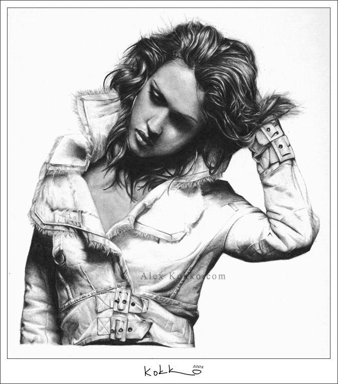 Jessica Alba by donalbain