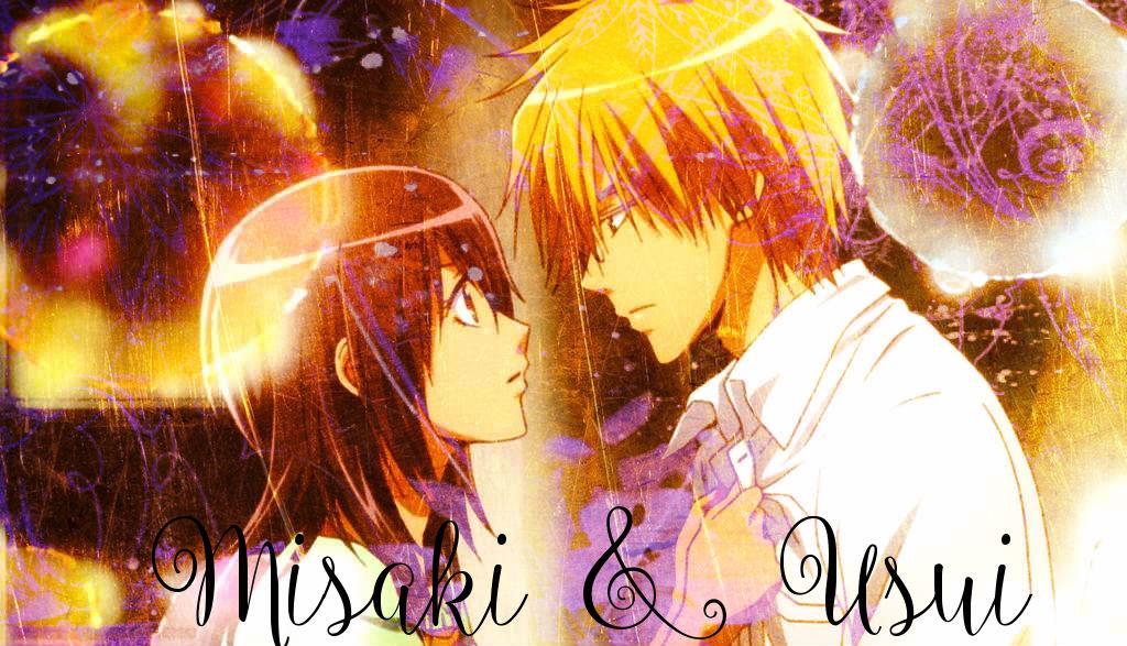Takumi and Misaki by sparklelemons