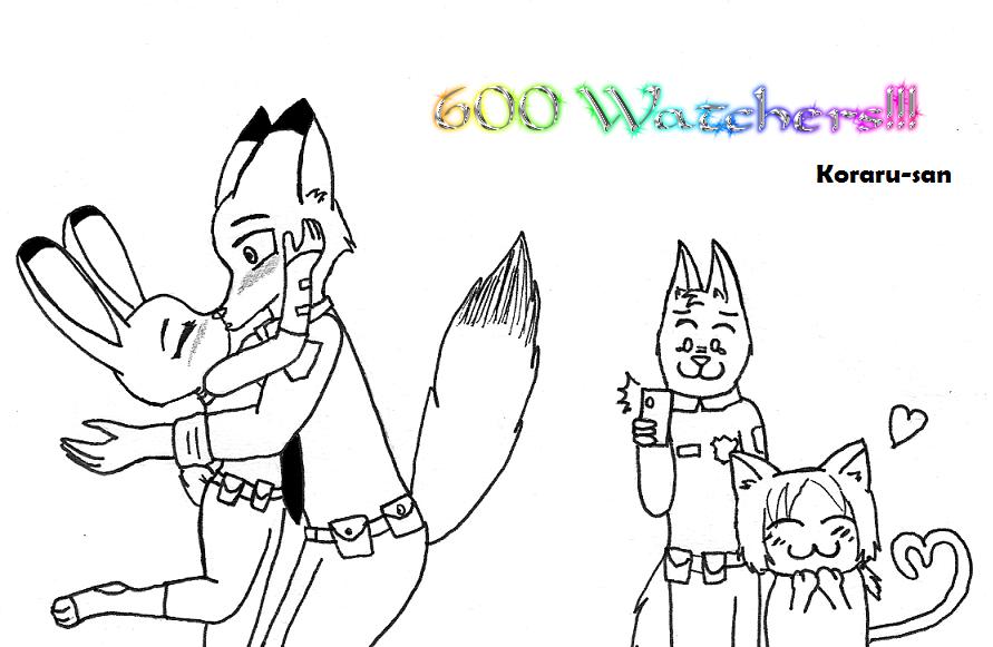 600 Watchers by Koraru-san