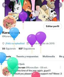 it's my birthday XD
