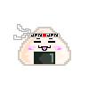 Onigiri Pixel Icon by kmiramontes14