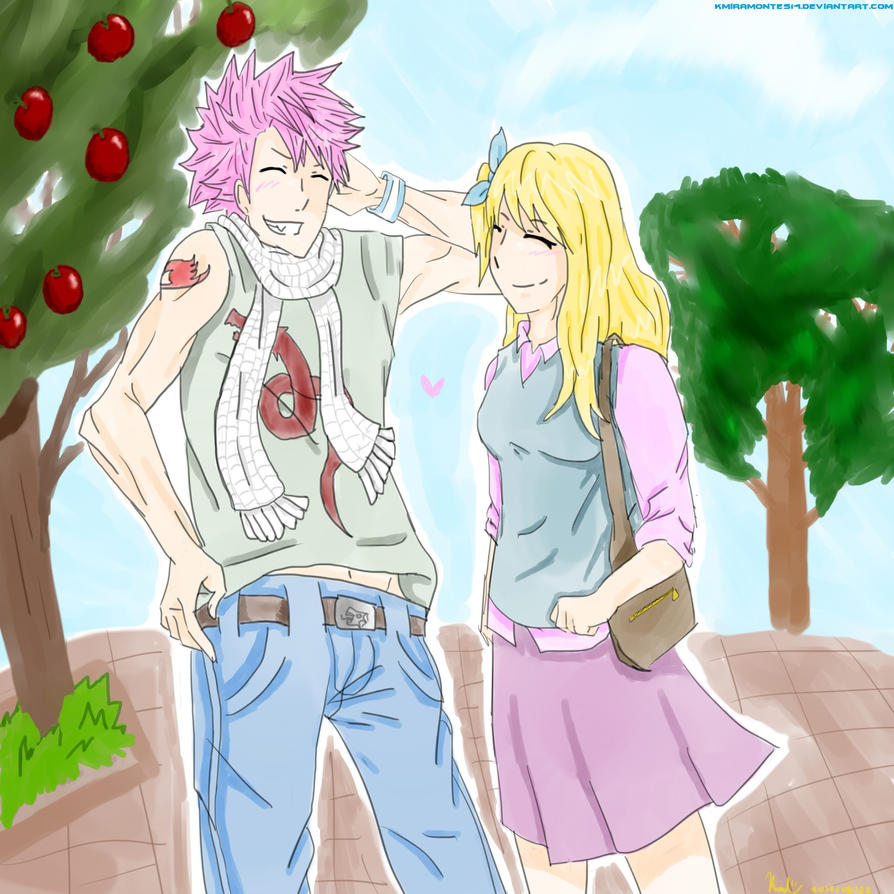 are natsu and lucy dating