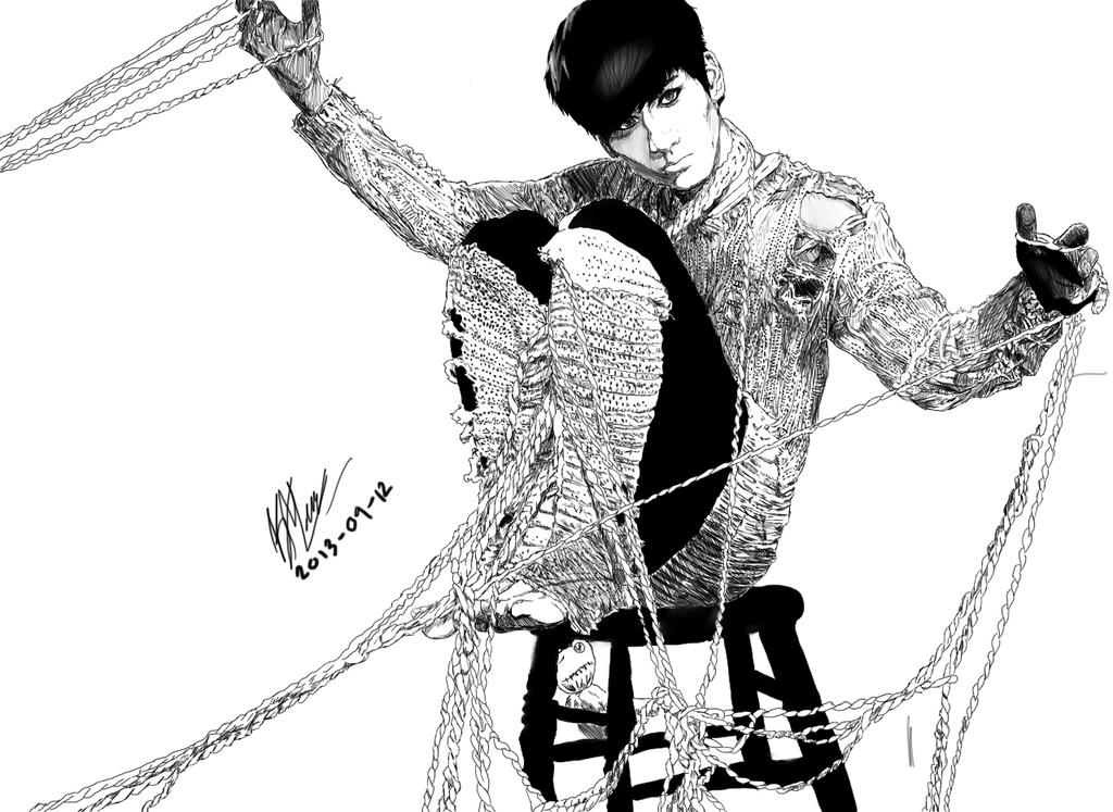 VIXX Hyuk - Voodoo Doll by kmiramontes14 on DeviantArt