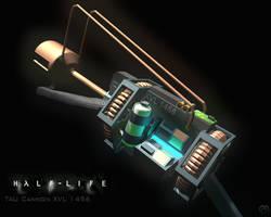 Half-Life XVL 1456 Tau Cannon by Snowfall-The-Cat