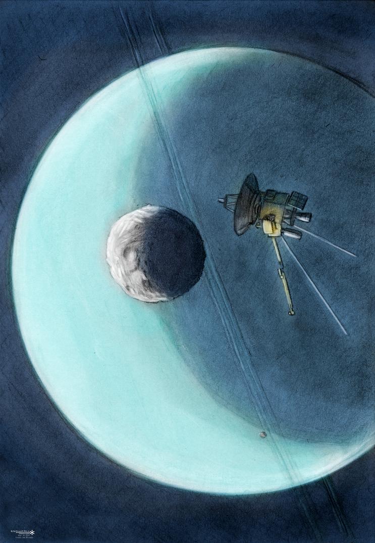 Uranus System by Snowfall-The-Cat