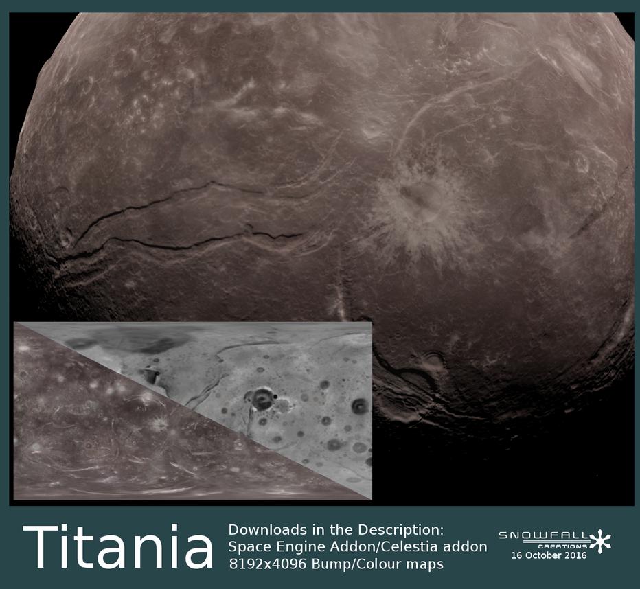 Uranus Project Missing Data - Titania by Snowfall-The-Cat