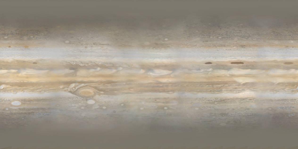 Voyager 1 Jupiter by Snowfall-The-Cat