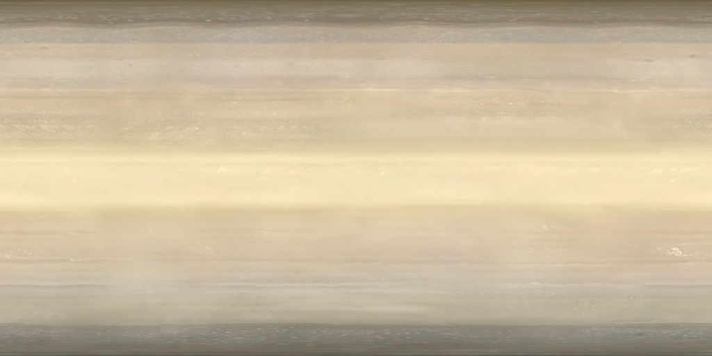 Cassini Saturn Map by Snowfall-The-Cat