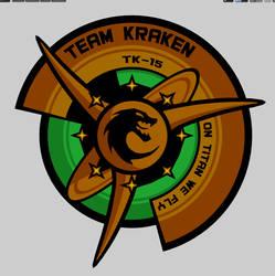 Team Kracken Titan Mission patch