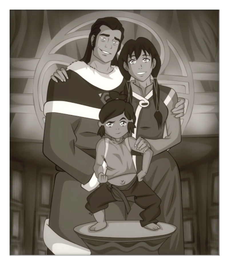 Korras Family Picture By SpectacularAna