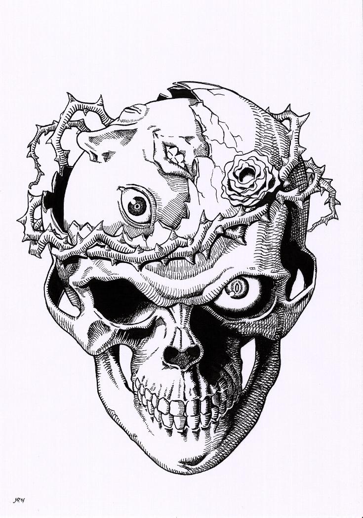 Berserk Skull With Behelit By Lagi20