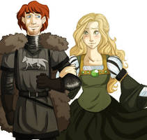 ASOIAF: Robb and Myrcella