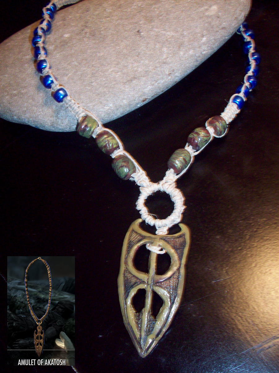 Amulet of Akatosh (Skyrim) by Sherio88