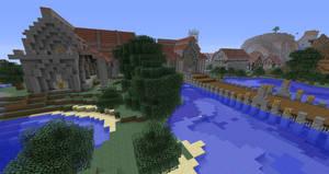 Minecraft 'Puerto de Corazon' Justice Buildings by Sherio88