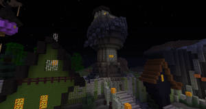 Minecraft:  Halloween Town Sally's house by Sherio88