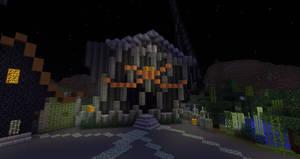 Minecraft:  Halloween Town Town Hall