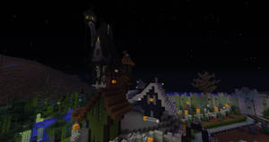 Minecraft:  Halloween Town Jack's House by Sherio88