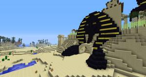 Minecraft:  Fesh'knet Sphinx by Sherio88