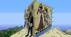 Minecraft: Fesh'knet palace side view #2 by Sherio88