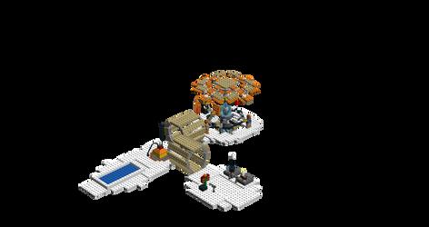 Lego Tardis inside 1.1.1