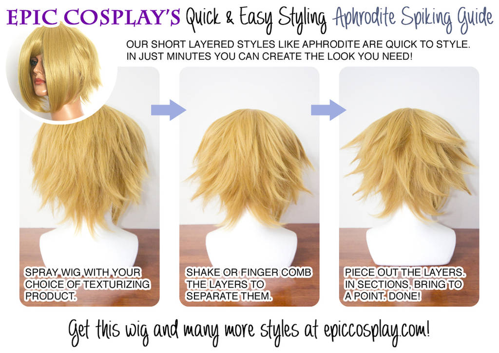 Aphrodite Wig Styling by EpicCosplayWigs