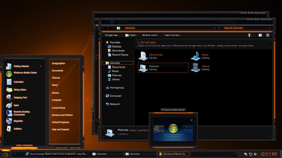latest themes windows 7 free  2012