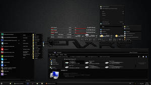 Alienware Special Edition DARK Windows 7 Theme