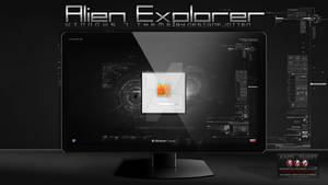 Alien Explorer Logonscreen By Designfjotten
