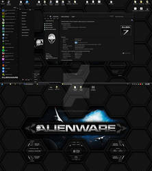 Preview of my upcoming Alienware HQ DARK