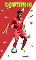 Philippe Coutinho - Cross Wallpapers by AdrianDOPE