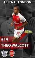 Arsenal - Walcott by AdrianDOPE